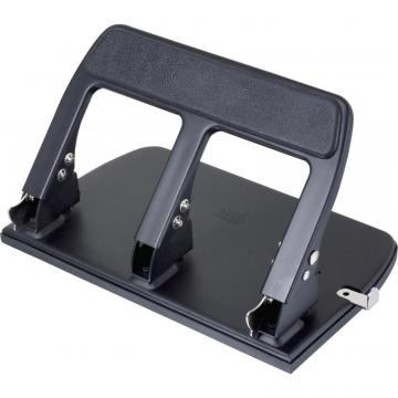 Officemate OIC Heavy-Duty Padded Hndl 3-Hole Punch