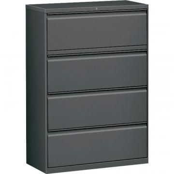 Hirsh Charcoal Lateral File - 4-Drawer