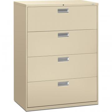 HON Brigade 600 Series 4-Drawer Lateral 694LL
