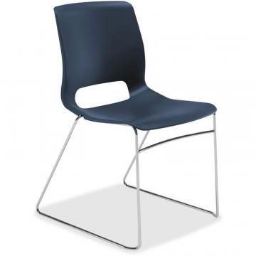 HON Motivate Stacking Chairs, 4-Pack MS101RE