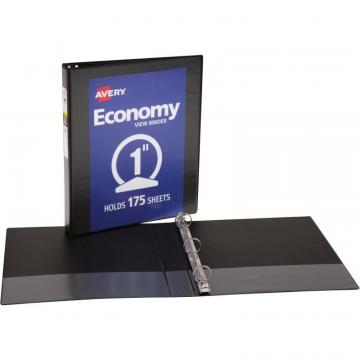 Avery Economy View Binder - without Merchandising CV11-10-BK